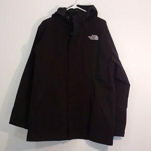 North Face jacket size M black